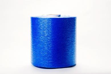 A roll of blue veneer string.