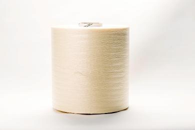 A roll of white veneer string.